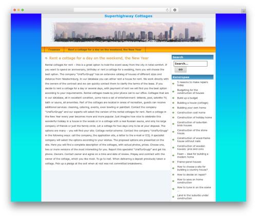Jakarta WordPress theme - redbee-seo.ru