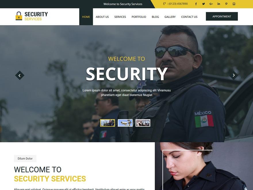 secure WordPress photo theme