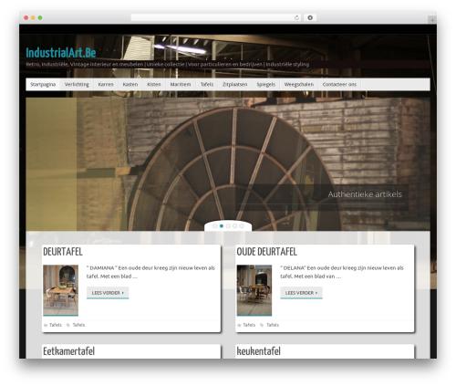 Tempera best WordPress template - industrialart.be