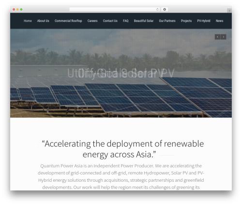 WordPress template Reload - quantumpower.com.sg