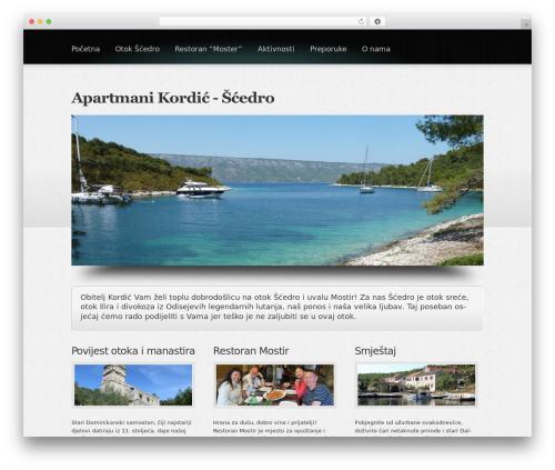 Boldy theme WordPress - islandhvarscedro.com