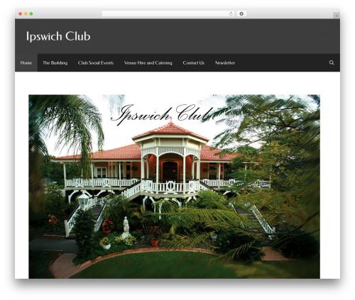 WordPress gp-premium plugin - ipswichclub.com.au