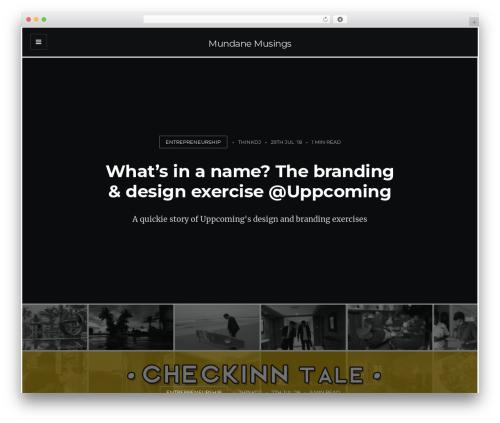 WordPress Theme Slate By EckoThemes Page 5