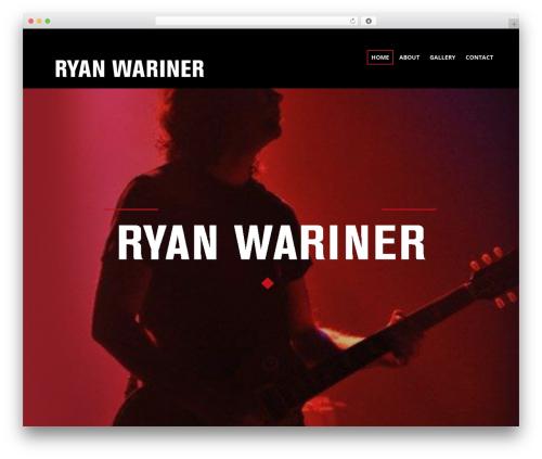 Sonorama WordPress theme - ryanwariner.com