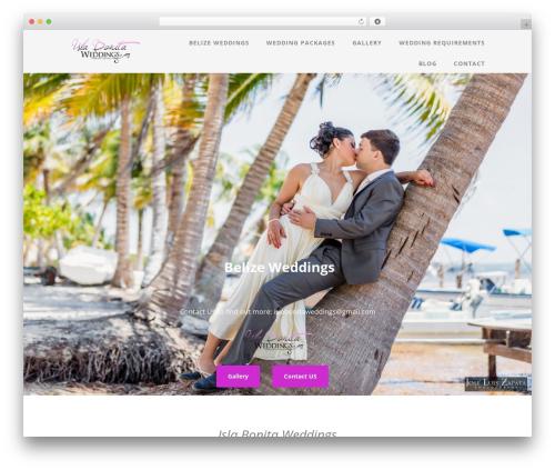 Template WordPress Optimizer - islabonitaweddings.com