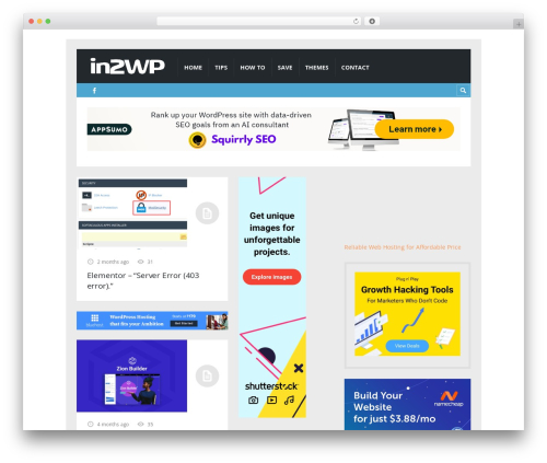 WordPress stkit plugin - in2wp.com