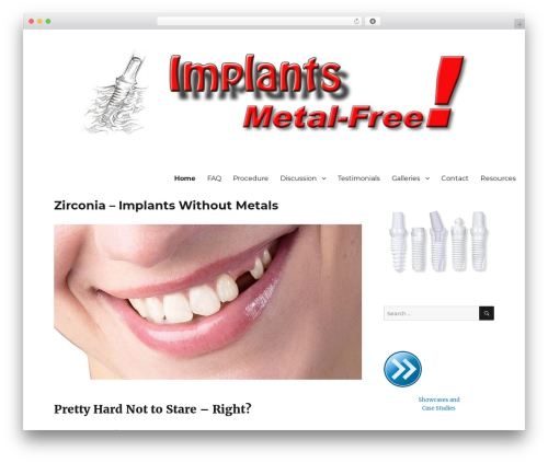 Free WordPress Pinterest by BestWebSoft plugin - implantsmetalfree.com