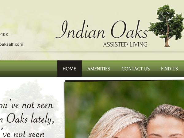 WordPress theme Indian_Oaks_Assisted_Living