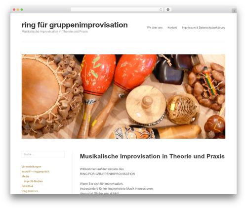 WordPress theme Puro Premium - impro-ring.de