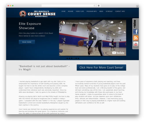 Best WordPress theme inFocus - irvbball.com