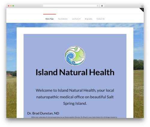 WordPress x-email-mailchimp plugin - islandnaturalhealth.ca