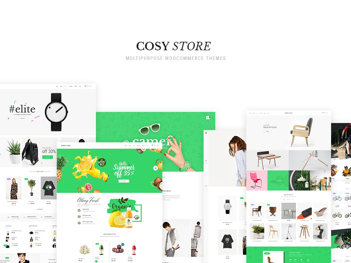 Cosy best WordPress template