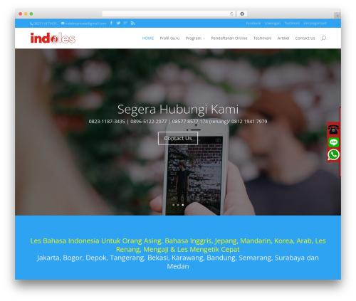 Divi WordPress theme - indolesprivate.com