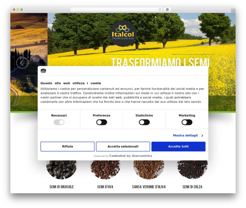 NatureWPThemes WordPress theme - italcol.it