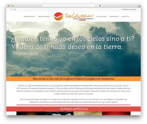 Salient template WordPress - icevaldepenas.org