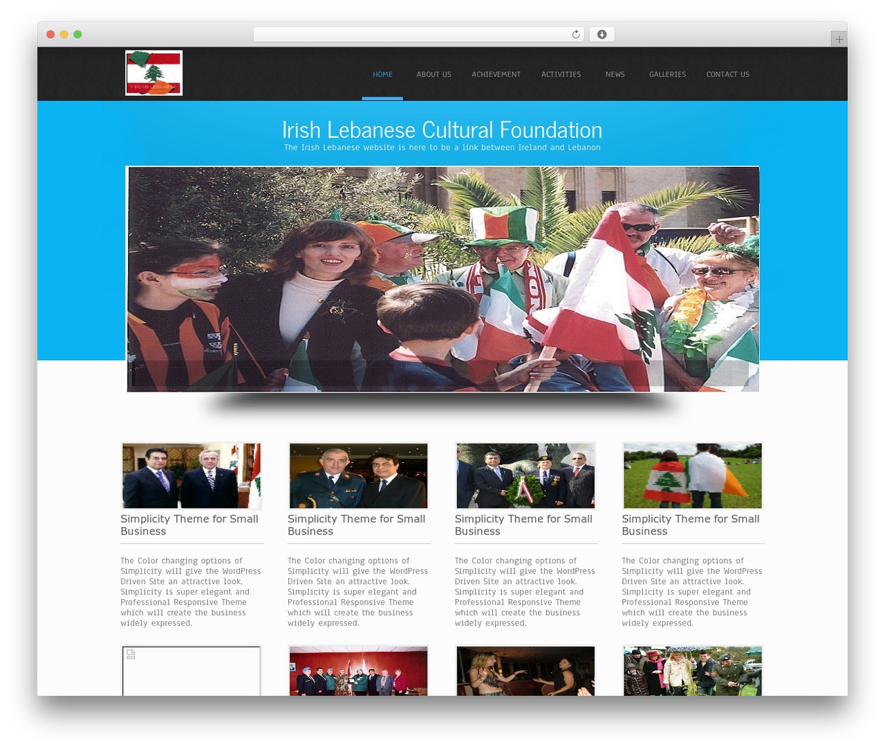 Simplicity Lite WordPress free download - irishlebanese.com