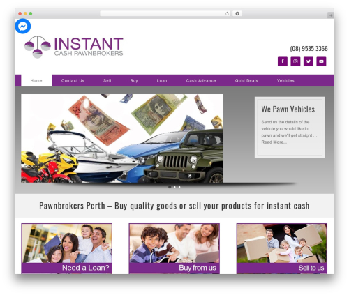 Theme WordPress Legacy 1.3 V2 - Mod 3300 - instantcashpawnbrokers.com.au