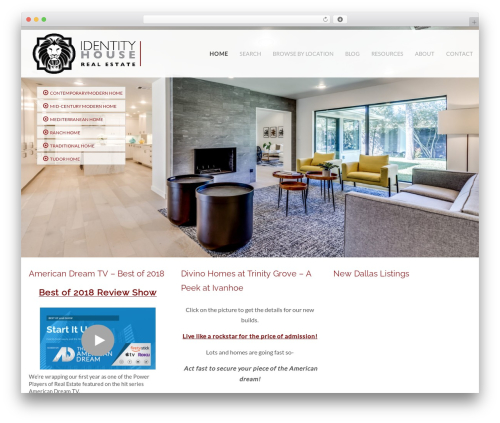 Headway Base WordPress theme design - identityhouserealestate.com