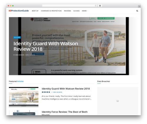 JNews WordPress news template - idprotectionguide.net