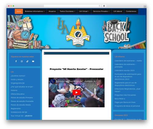 Nabia WordPress template free download - ija.edu.pa