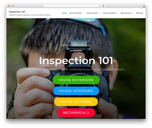 Neve WP template - inspection101.com