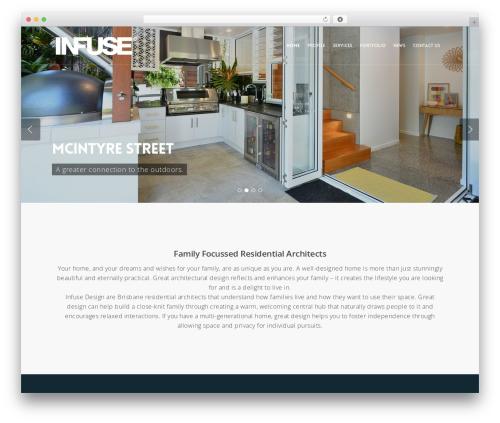 Salient WordPress website template - infuse-design.com.au