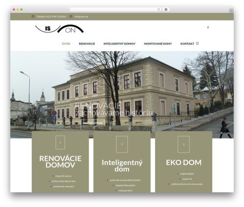 TheFox WordPress template - ison.sk