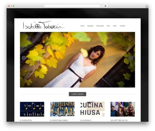 Widely top WordPress theme - isabellatabarini.it