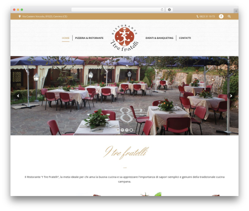 WordPress theme The7 - itrefratelli.it