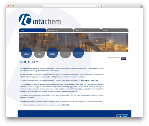 WP theme CC Child Theme - intachem.com.au