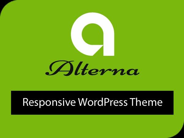 alterna8 Child template WordPress
