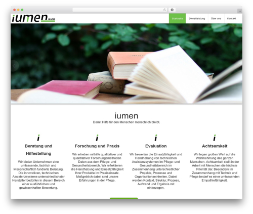 BusiProf Pro WordPress theme design - iumen.de