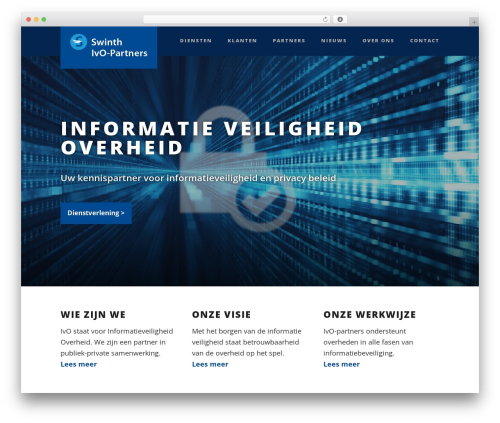 Suite template WordPress - ivo-partners.nl
