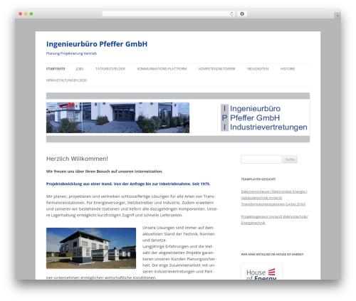 Twenty Twelve template WordPress free - ipi-online.de