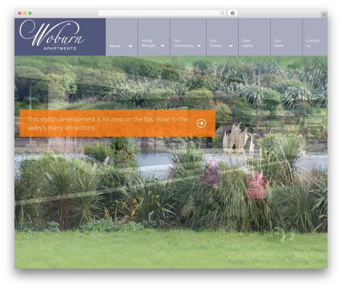 Arch WordPress page template - woburnapartments.co.nz