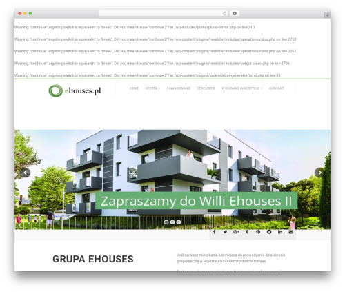 AutoStars WordPress template for business - willa.ehouses.pl