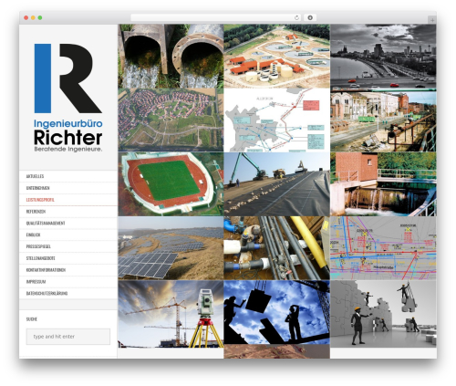 Best WordPress theme Other - wp.richter-ingenieure.de
