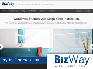 BizWay Pro Responsive WordPress template for business