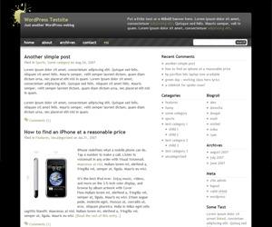 Black Splat WR theme WordPress