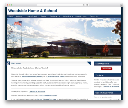 BlogoLife WordPress template - woodsidehomeandschool.com