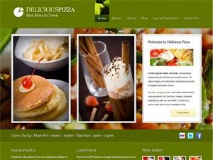 Delicious Restaurant Wordpress WordPress photo theme