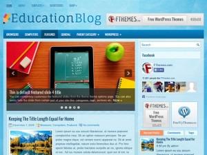 EducationBlog WordPress blog template