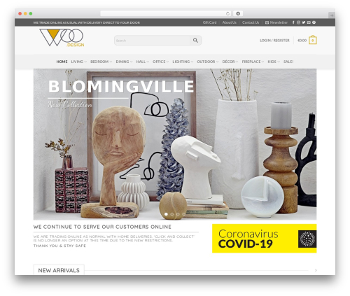 Flatsome WordPress theme - woodesign.ie