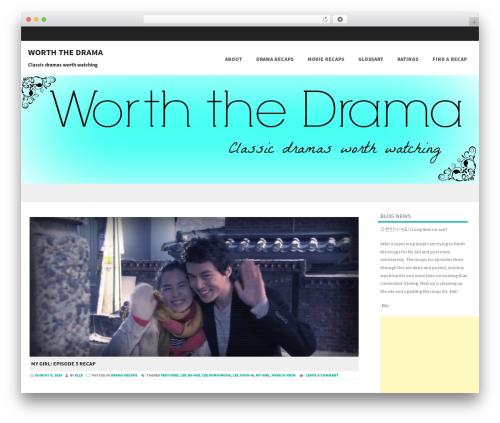 Formation best free WordPress theme - worththedrama.com