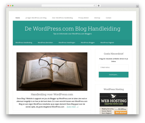 Genesis WordPress blog theme - wpcom.nl