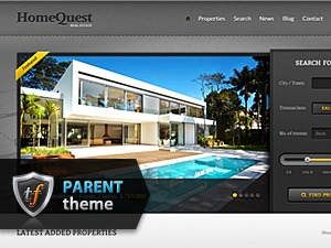 HomeQuest Parent WordPress real estate