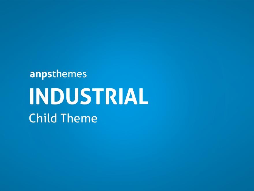 Industrial Child Theme WordPress theme
