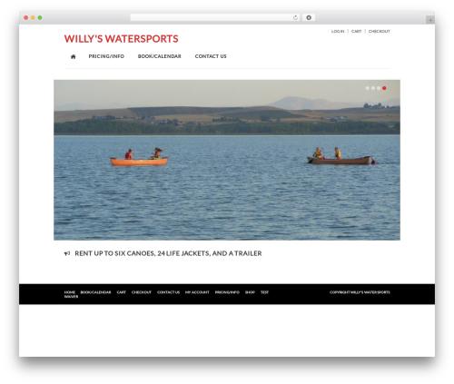Kaching WordPress WooCommerce Theme WordPress store theme - willyswatersports.com