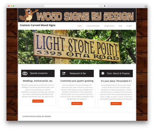 Free WordPress Photo Gallery by 10Web – Responsive Image Gallery plugin - woodsignsbydesign.com