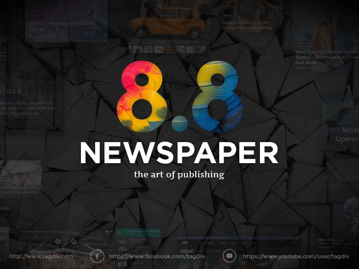 Newspaper Child WordPress news template